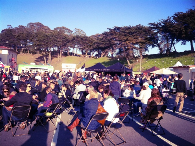 Off The Grid at Fort Mason!