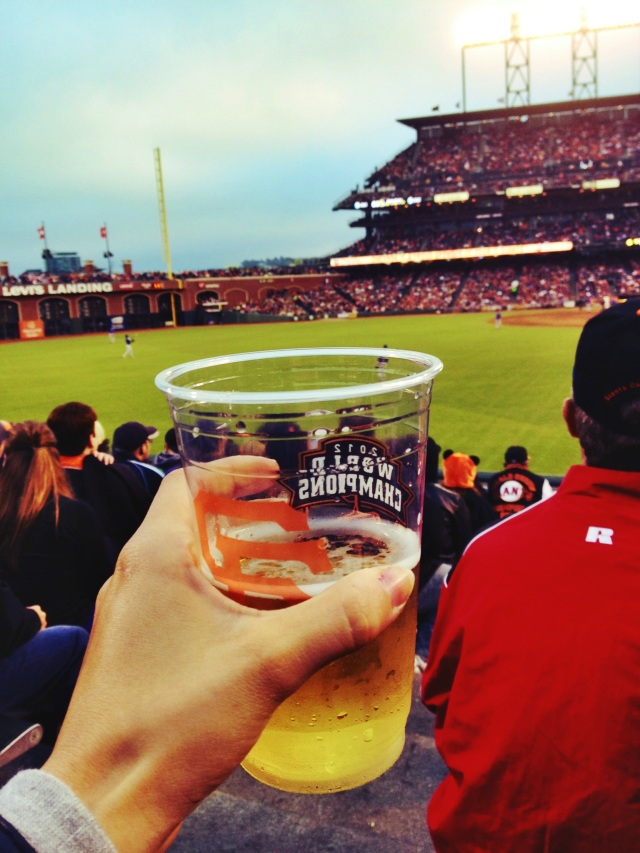The only way to celebrate America's favorite past time is with a beer & ballpark frank in hand.
