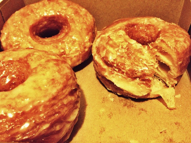 Cronuts, ya'll. And good god, they are DEADLY.