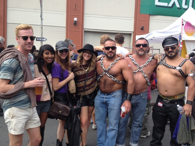 When in Rome -- or the Folsom Street Fair.