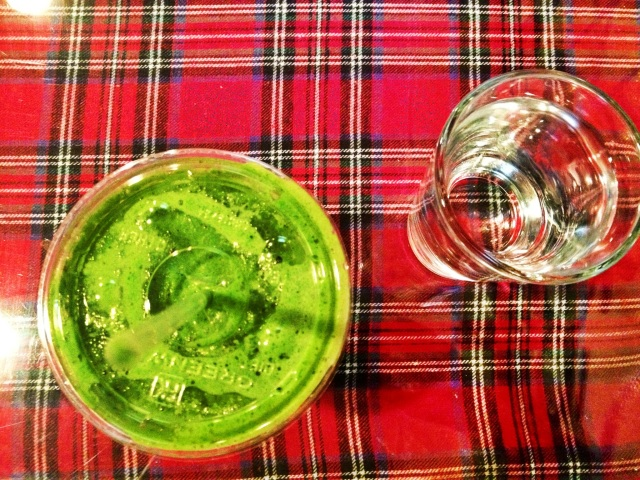 Green smoothie at Jane? YOU KNOW IT.