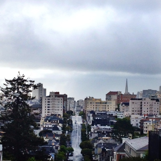 Gloomy San Francisco.