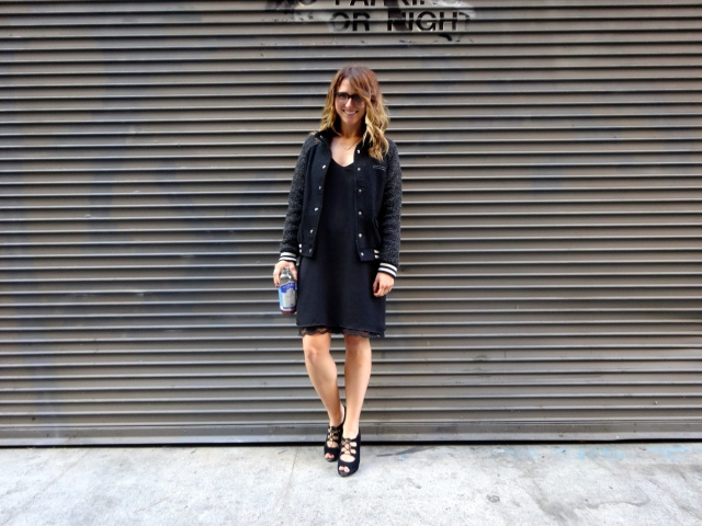 Dress: Zara | Jacket: F21 | Shoes: Talbot's