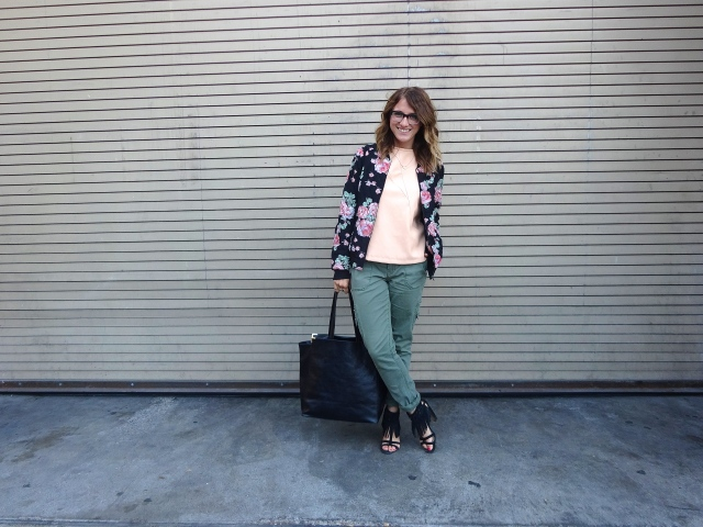 Jacket: F21 | Blouse: Zara | Pants: Target | Shoes: Nine West